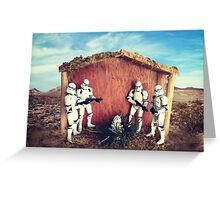 Jesus was a Clone Trooper Greeting Card
