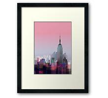 New york, NYC city ! Framed Print