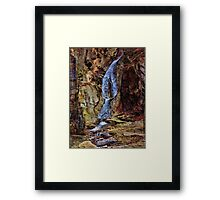 Inside Buttermilk Falls Framed Print