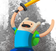 Adventure Time - Finn the Adventurer Sticker