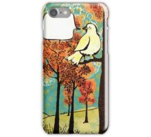 strangers passing lightly iPhone Case/Skin