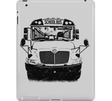 school bus iPad Case/Skin