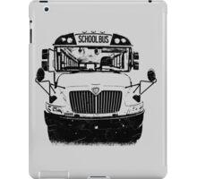 school bus iPad Case/Skin