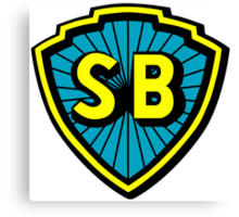 Shaw Brothers Logo Canvas Print