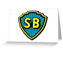 Shaw Brothers Logo Greeting Card