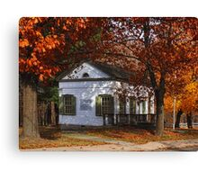 Delaware Hudson Canal Business Office Canvas Print