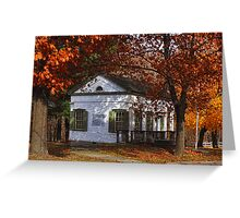 Delaware Hudson Canal Business Office Greeting Card