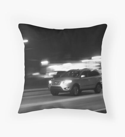 Looking Upon Ludicrous Speed Throw Pillow