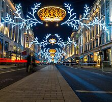 Regent Street Christmas Lights by alalchan
