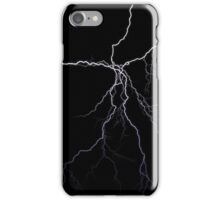 Lightning strikes iPhone Case/Skin