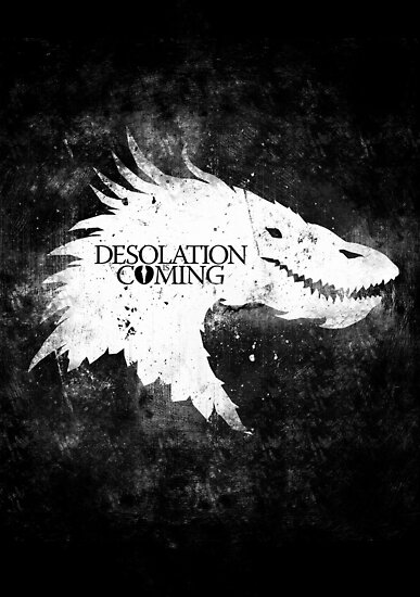 Desolation is Coming by SixEyedMonster