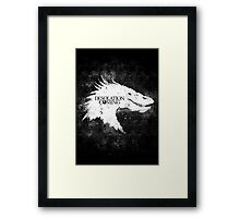 Desolation is Coming Framed Print