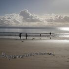 Merry Christmas from Australia , Wilsons Prom by Pauline Tims