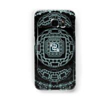 Fractalized Block Power Samsung Galaxy Case/Skin