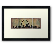 Gate to the West Framed Print