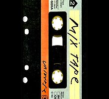 Old Vintage Classic Retro Mix cassette Tape by Johnny Sunardi