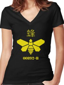 Bee Barrel Women's Fitted V-Neck T-Shirt