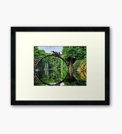 There Could Be Dragons Framed Print