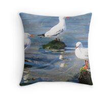 Catch Up Time Throw Pillow