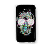 Skull Color Waves Samsung Galaxy Case/Skin