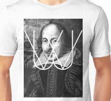 William Shakespeare Black White | Wighte.com Unisex T-Shirt