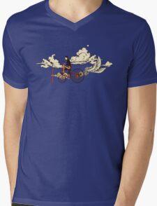 Steam FLY Mens V-Neck T-Shirt