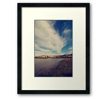 Through the Sky Framed Print