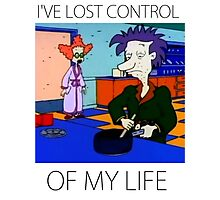 Stu Pickles - I've lost control of my life Photographic Print