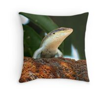 Lizard - Zambia Throw Pillow