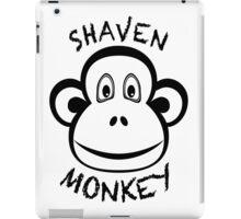 Shaven Monkey Black iPad Case/Skin