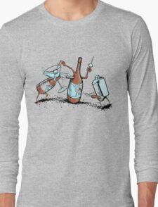 Bar Fight Long Sleeve T-Shirt