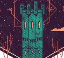 The Tower Azure Sticker