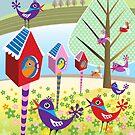 Bird Chatter by Margaret Krajnc