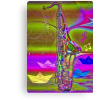 Jazz Chill Canvas Print