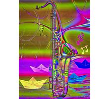 Jazz Chill Photographic Print