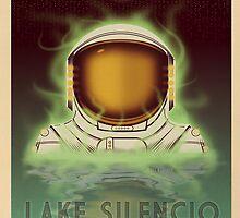 Lake Silencio by MeganLara