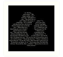 Captain Swan - Quotes Art Print