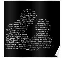 Captain Swan - Quotes Poster
