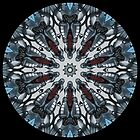Copperbot Blue Kaleidoscope by fantasytripp