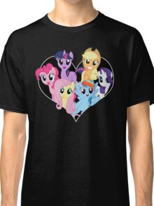 chest heart ponies  Classic T-Shirt