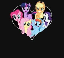 chest heart ponies  Unisex T-Shirt