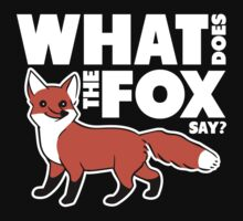 What Does The Fox Say? by ajf89