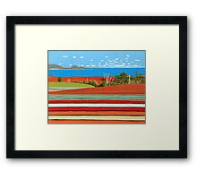 Landscape Harmony, Table Cape Framed Print