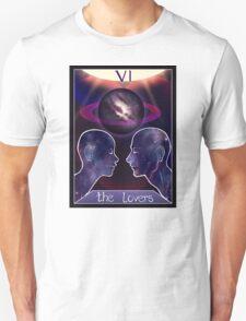 """""""The Lovers"""" Tarot Card Shirt (Saturn!) Unisex T-Shirt"""