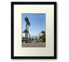 Living In Point Loma Framed Print