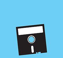 3 INCH Floppy Disk DRIVE Olh skool geekery by jazzydevil