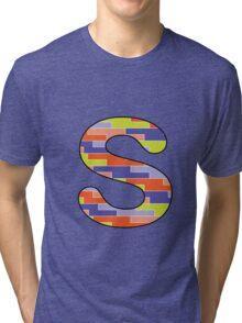 Letter Series - s Tri-blend T-Shirt