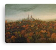 Holy Hill Rain Storm Canvas Print