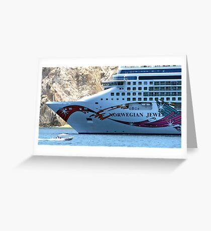 Norwegian Jewel Greeting Card