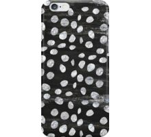 Black & White Spots iPhone Case/Skin